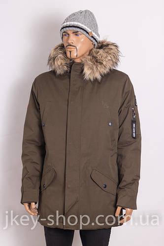 Куртка (Parka) мужская ZEN-ZEN 53057 HAKI 02
