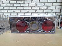 Задние фонари на ВАЗ 2109 Олимпиада (хром)