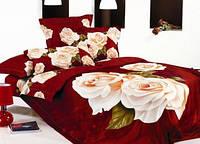 Комплект постельного белья евро Le Vele, Strast, сатин, лучшая цена!