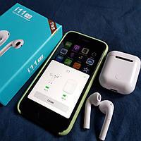 Беспроводные сенсорные наушники i11-TWS. Bluetooth v5.0 c боксом для зарядки