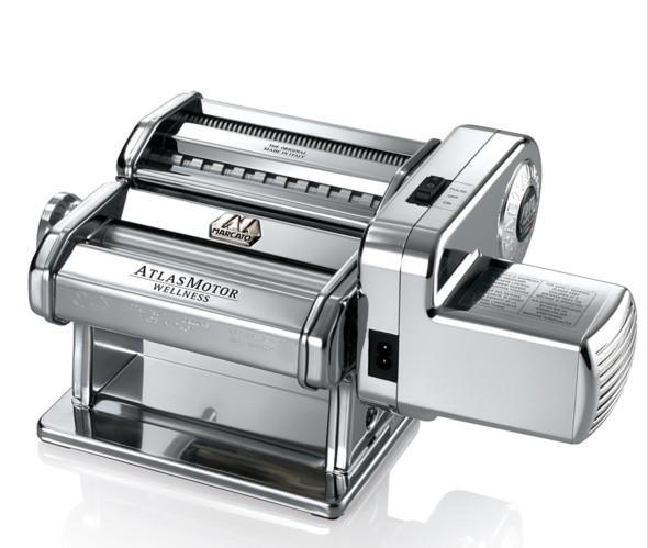 Электрическая тестораскатка - лапшерезка Marcato Atlas Motor 150 mm