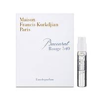 Maison Francis Kurkdjian Baccarat Rouge 540 Парфюмированная вода (пробник) 2ml (3700559603147)