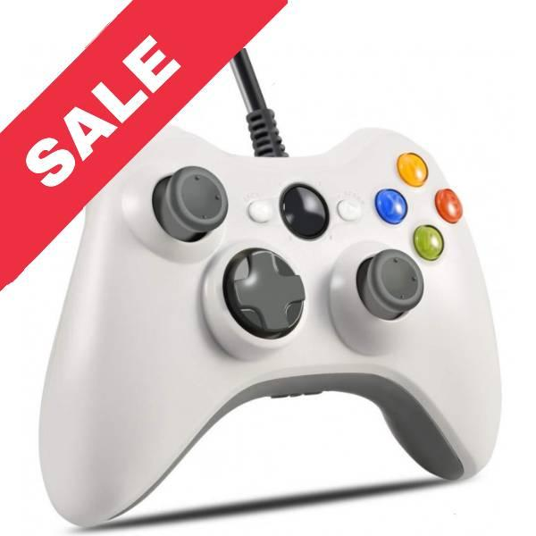 Джойстик Microsoft Xbox 360 Controller Білий