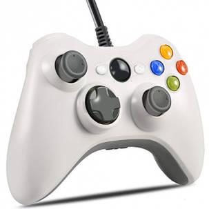 Джойстик Microsoft Xbox 360 Controller Білий, фото 2