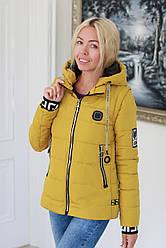 Куртка жіноча демісезонна трансформер в жилет (розміри з 44 по 52)