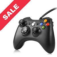 Джойстик Microsoft Xbox 360 Controller Чорний