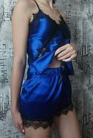 Молодіжний піжамний комплект Exclusive 040-синій.