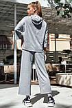 Прогулянковий брендовий костюм жіночий з капюшоном (3 кольори, р. XS,S,M), фото 10