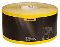 MIRKA Шлифовальный материал Mirox Р120 жёлтая рулонная