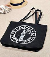 Пляжная брендовая женская сумка на море с лондонским Биг Беном