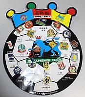 Набор значков футбольных клубов Английской Премьер Лиги