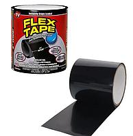 Водонепроницаемая изоляционная клейкая лента скотч 10х150 см  Flex Tape черный