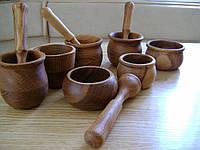 Деревянная ступка , фото 1
