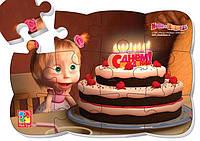 """Магнітні пазли 3205-48 """"Маша день народження""""  ( Ч )"""