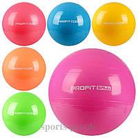 Мяч для фитнеса (Фитбол), MS 0382, диаметр 65 см. (без коробки).