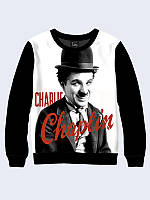 Мужской  Свитшот Знаменитый Чарли Чаплин