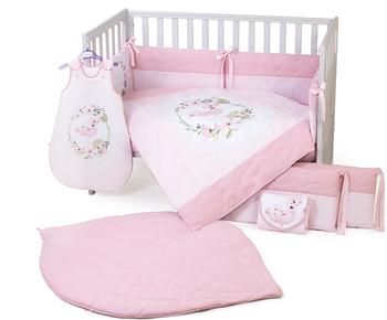 Постіль в дитяче ліжечко