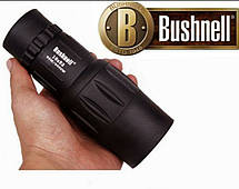 Монокуляр Bushnell 16x52 PowerView монокль, Бушнел, подзорная труба с чехлом, фото 2