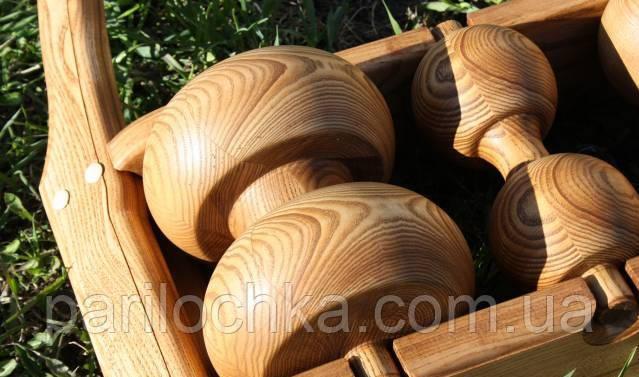 Деревянные колеса и ролики
