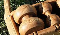 Деревянные колеса и ролики , фото 1