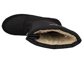 Полусапоги дутики женские зимние черные 40 р. - 26 см Progres 1245844854, фото 2