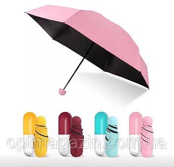 Мини-зонт в футляре Капсула, фото 2