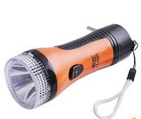 Фонарь Yajia 0929, 1 LED c аккумулятором