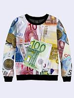 Мужской  Свитшот Европейская валюта