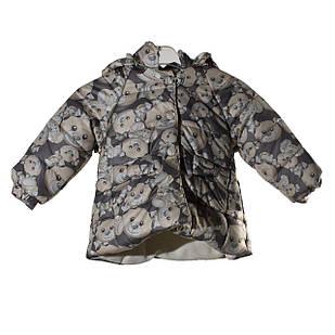Демісезонна курточка для дівчинки, розміри 9, 18 міс