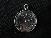 """Подвеска металлическая """"Часы карманные"""", 22мм, 8\6 (цена за 1 шт. +2 грн.)"""