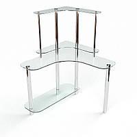 """Письмовий скляний стіл """"Діона"""", фото 1"""