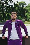 Спортивний костюм -Стильний чоловічий костюм Palm Angels (фіолетовий), фото 4