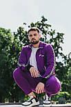 Спортивний костюм -Стильний чоловічий костюм Palm Angels (фіолетовий), фото 2