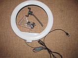 Селфи-лампа Led кільце 32см YQ320, фото 9