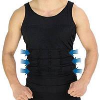 Майка для похудения утягивающая Slim`N Lift мужская | Мужская одежда для похудения, фото 2