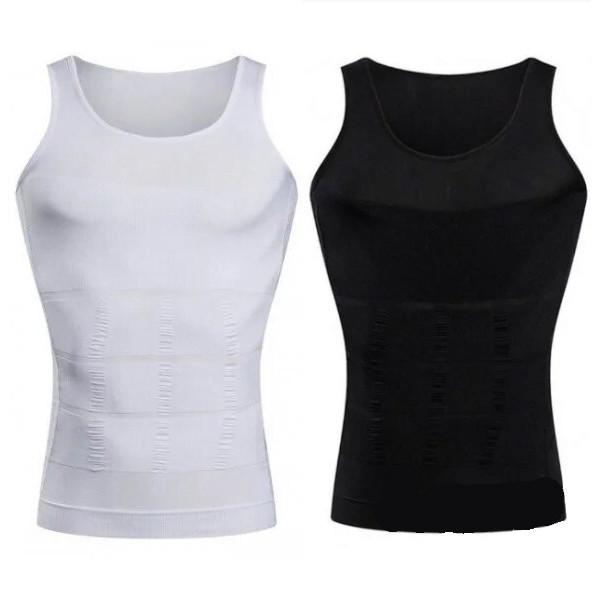 Майка для похудения утягивающая Slim`N Lift мужская | Мужская одежда для похудения