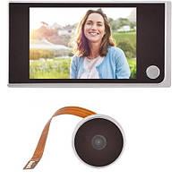 Видеоглазок цифровой с экраном 3.5 для входной двери c камерой 2 Мп