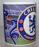 Футбольна Чашка чайна з зображенням символіки FC Chelsea, фото 3