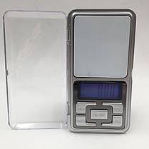 Весы электронные ювелирные Pocket Scale MH 200, карманные портативные мини весы, фото 3