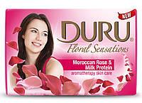 Мыло DURU Floral Sensations Марокканская Роза и молочный протеин 90 гр