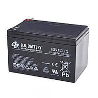 Аккумулятор B.B. Battery EB 12-12, фото 1