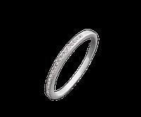 Серебряное кольцо  Неделька 15-20,5, фото 1