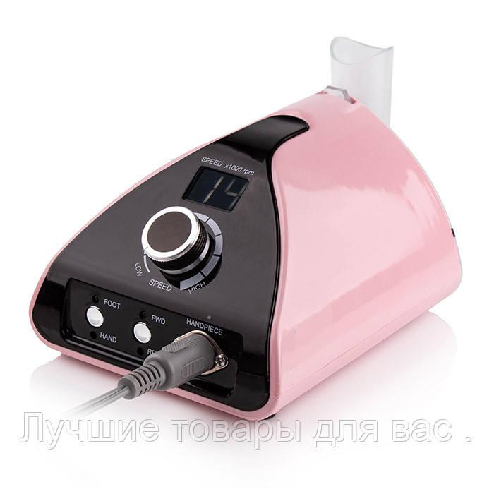 Фрезер для маникюра Nail Drill ZS-711 PRO PINK на 65 Вт./35000 оборотов (розовый)