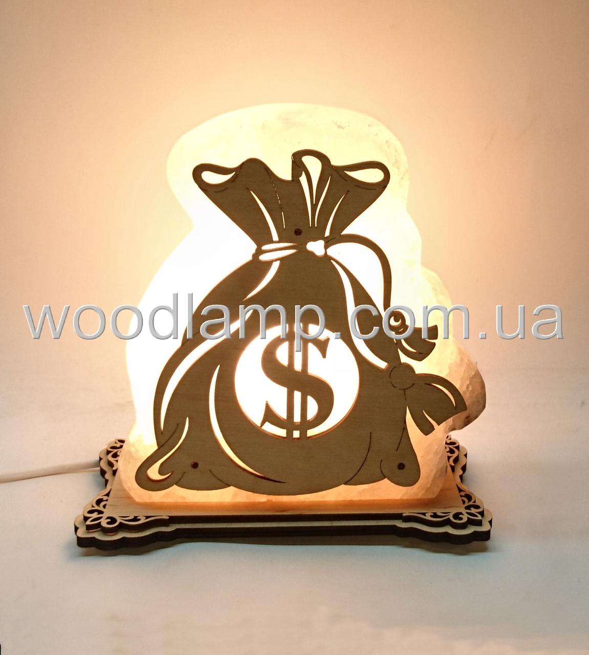 Соляной светильник Мешок денег Доллар