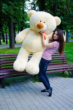 Плюшевий ведмедик Пух 180 см Персиковий