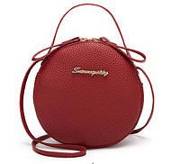 Женская сумка клатч Linda red