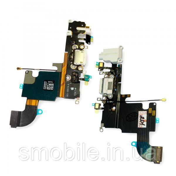 Apple Шлейф iPhone 6S + разъемы зарядки и под наушники былые (оригинал)