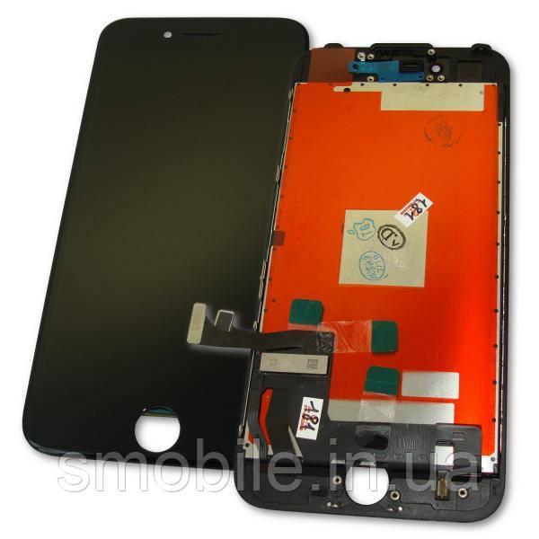 Apple Дисплей iPhone 7 с сенсором и рамкой, черный (оригинальные комплектующие)