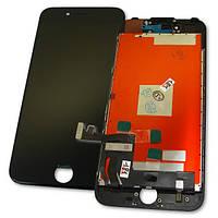 Apple Дисплей iPhone 7 с сенсором и рамкой, черный (оригинальные комплектующие), фото 1