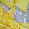 Постельное белье ранфорс Viluta (17148) двуспальный - евро 240х220 см, фото 6